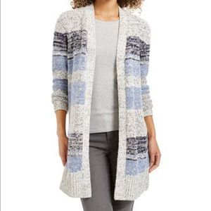 NWT Style & Co women's Striped Cardigan size M